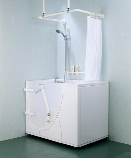 Phòng tắm cho người khuyết tật