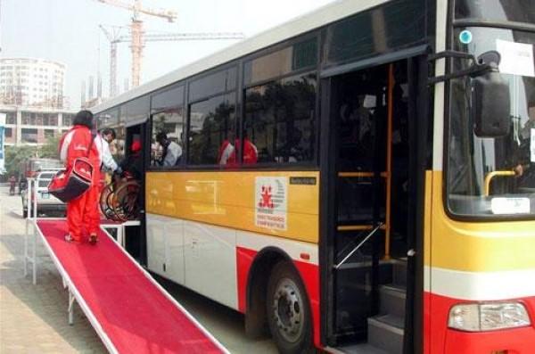 Xe Buýt có lối đi dành cho người khuyết tật